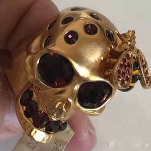♥️Alexander MCQUEEN size 7 ring New 10-12 yrs old